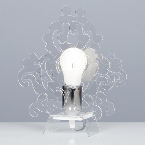 Lampe de table Amarilli transparente Emporium Roberto Giacomucci
