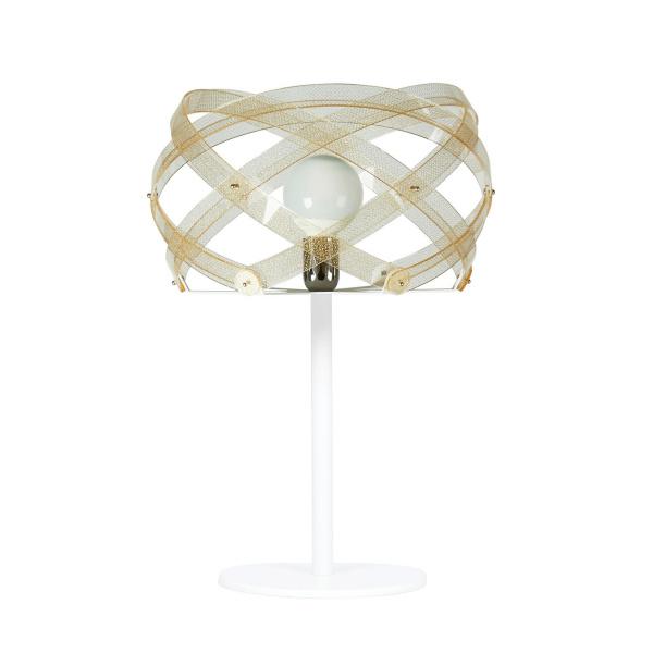 Lampada da Tavolo Nuclea table Texture Gold Emporium Roberto Giacomucci