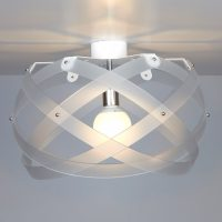 Nuclea up B ceiling lamp Satin white Emporium Roberto Giacomucci