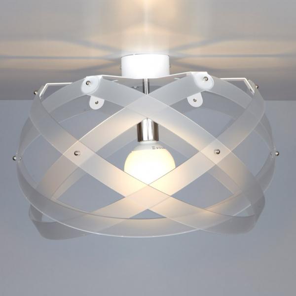 Nuclea up B ceiling lamp Satin white Emporium Roberto Giacomucci