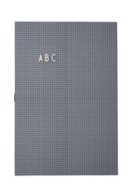 A3 Light Slate - L 30 x H 42 cm Dark Gray Design Letters