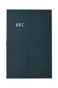 Pizarra luminosa A3 - L 30 x H 42 cm Letras de diseño verde oscuro
