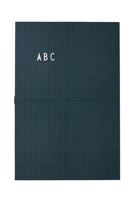 Luminous Slate A3 - L 30 x H 42 cm Dark green Design Letters