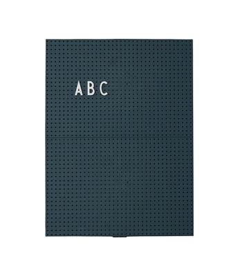 Luminous Slate A4 - L 21 x H 30 cm Dark green Design Letters