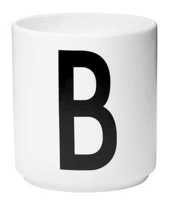 Mug Arne Jacobsen Letter B White Design Letters Arne Jacobsen
