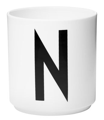 Arne Jacobsen Lettre N Design Lettres blanches Arne Jacobsen