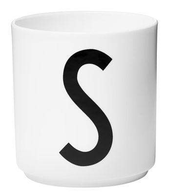 Κούπα Arne Jacobsen Επιστολή S Λευκό Design Επιστολές Arne Jacobsen