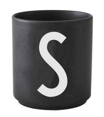 Arne Jacobsen Lettre S Lettres Design Noir Arne Jacobsen