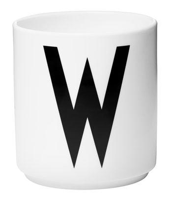 Κούπα Arne Jacobsen Επιστολή W Λευκό Design επιστολές Arne Jacobsen