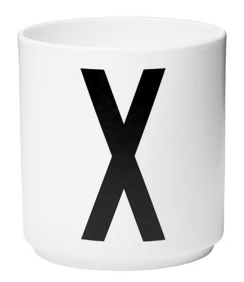 Arne Jacobsen Lettre X Lettres Design Blanc Arne Jacobsen