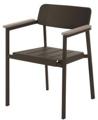 Armchair Shine Brown | Teck Arik Levy Emu 1