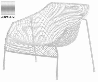 Niedriger Sessel Emu Himmel Aluminium Jean-Marie Massaud 1