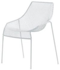 White Emu Heaven chair Jean-Marie Massaud 1