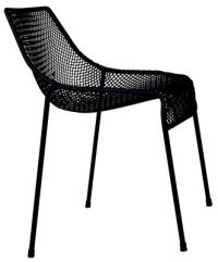 Black Emu Heaven chair Jean-Marie Massaud 1