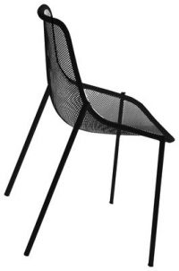 Chair Round Black Emu Christophe Pillet 1