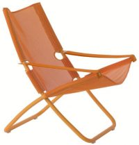 Deckchair repetition Orange emeu Alfredo Chiaramonte | Marco Marin 1