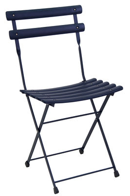 Arc en Ciel folding chair dark blue Emu Research Center Emu 1