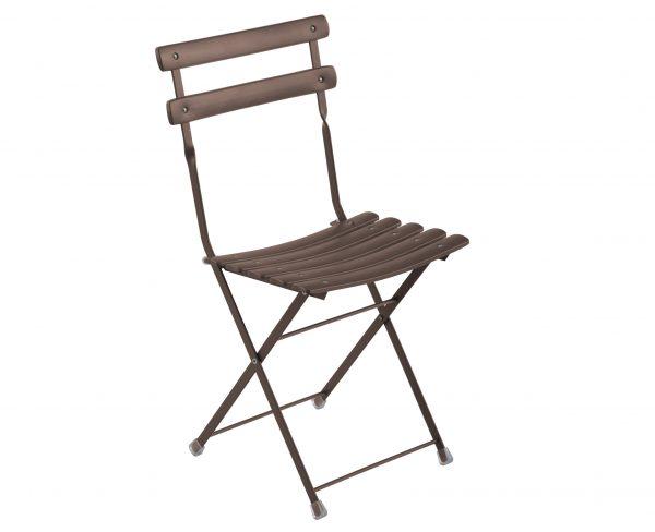 cadeira dobrável Arc en Ciel Antiga ferro Emu Centro Ricerche Emu 1