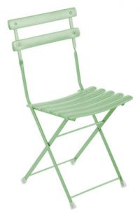 Arc en Ciel folding chair mint green Emu Research Center Emu 1