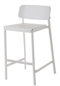High stool Shine White Emu Arik Levy 1