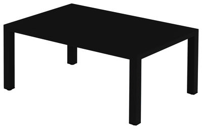 Coffee Table 70x100 Round Black Emu Christophe Pillet 1