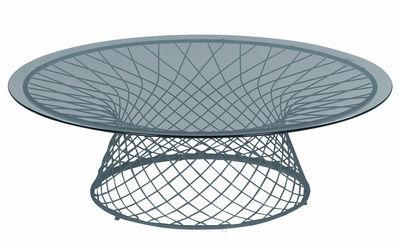 Mesa de centro Heaven Ø 120 cm Aluminio Emu Jean-Marie Massaud 1