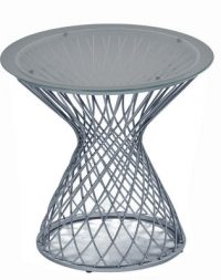 Aluminium coffee table Heaven Emu Jean-Marie Massaud 1