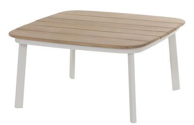 mesa de café branco brilho | Teck Arik Levy Emu 1