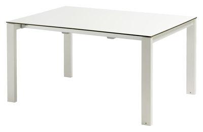 table extensible Brillant rond blanc Emu Christophe Pillet 1
