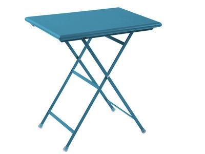 折りたたみテーブルアルクアンシエルブルーブルーエミューセントロRicercheエミュー1