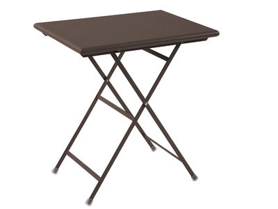 Folding table Arc en Ciel Antique iron Emu Centro Ricerche Emu 1