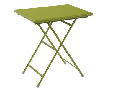 折りたたみテーブルアルクアンシエルグリーンエミューセントロRicercheエミュー1
