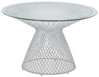 mesa redonda céu Ø 120 cm alumínio Emu Jean-Marie Massaud 1