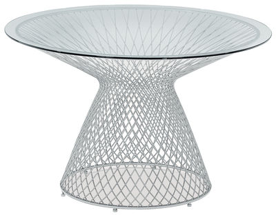 round table Heaven Ø 120 cm Aluminium Emu Jean-Marie Massaud 1