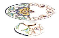 Suporte para Bolo Híbrido Léandra - Ø 20 cm Seletti multicolorido CTRLZAK