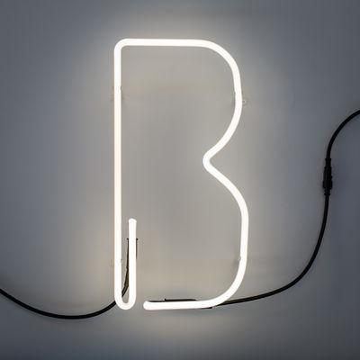 アルファフォンの壁ライト - 文字B Bianco Seletti BBMDS