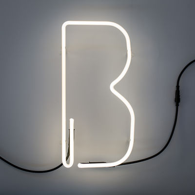 Arandela Alphafont - letra B Bianco Seletti BBMDS