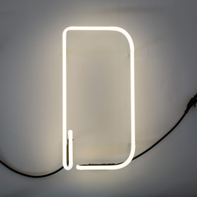 Lámpara de pared Alphafont - Letra D Blanca Seletti BBMDS