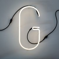 Alphafont Wall Lamp - Letter G White Seletti BBMDS