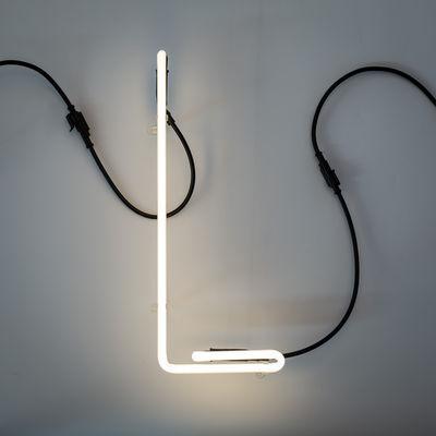 Alphafont Τοίχου Λάμπα - Επιστολή L Λευκό Seletti BBMDS