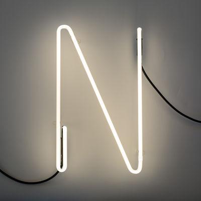 Alphafont Wall Lamp - Letter N White Seletti BBMDS
