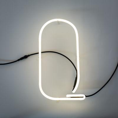 Alphafont Wall Lamp - Letter Q White Seletti BBMDS