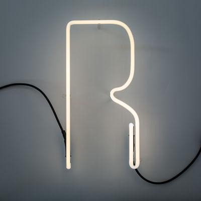 Alphafont Wall Lamp - Letter R White Seletti BBMDS