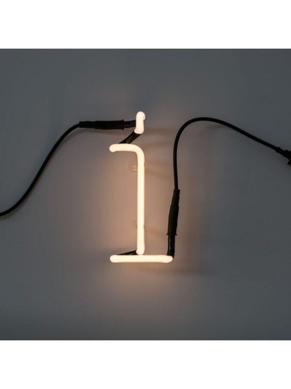 Applique Neon Art - Lettre I Blanc Seletti Selab