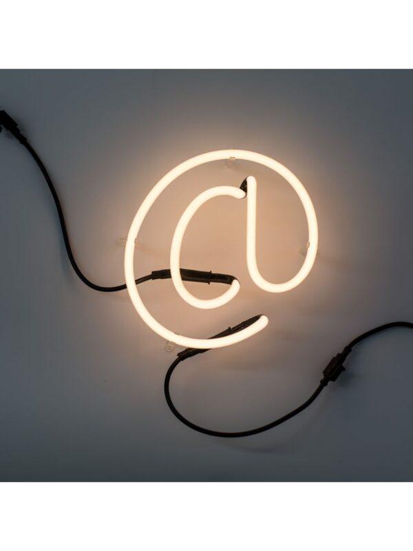 Neon Art Applique - Symbol @ Bianco Seletti Selab