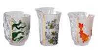 Bicchieri Hybrid Aglaura - Set da 3 Multicolore Seletti CTRLZAK
