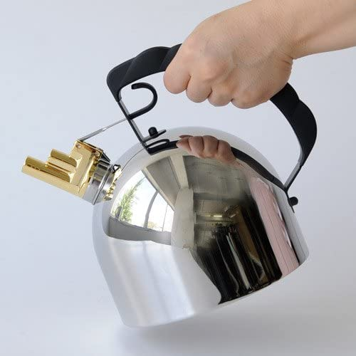 Kettle polished stainless Richard Sapper ALESSI 9091 2