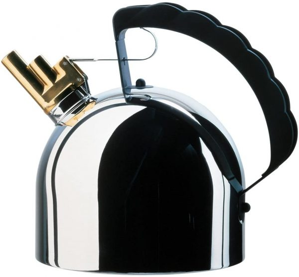 Kettle polished stainless Richard Sapper ALESSI 9091 1