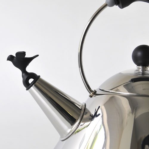 Kettle 9093 B polished stainless Michael Graves ALESSI 2