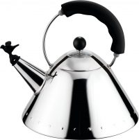 Kettle 9093 B polished stainless Michael Graves ALESSI 1